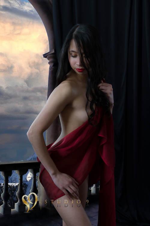 Fantasy photoshop art nude photo
