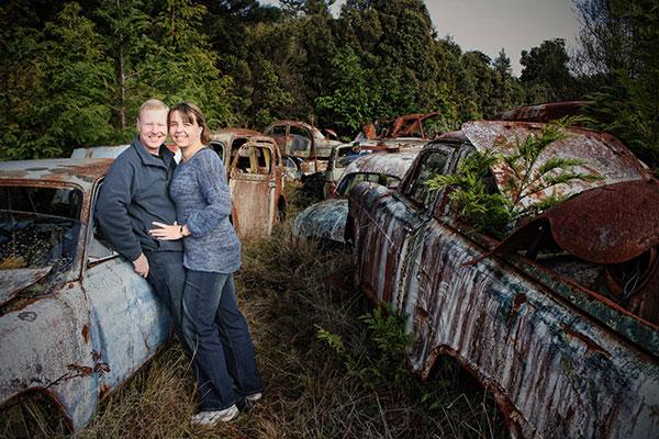 About us ( Lynnette and Paul ). Portrait photographers at Studio9 portrait photography.