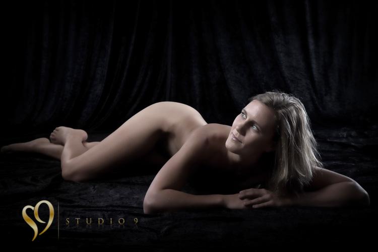 Full figure art nude portraits at the studio.