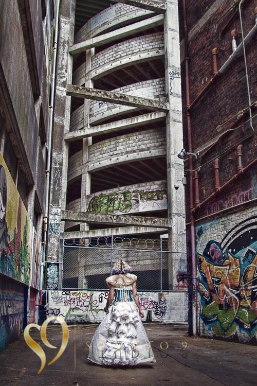 Wellington graffiti photo shoot with Jamie.