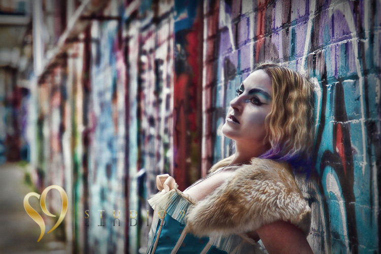 Alternative portraits with Jamie at Wellington alley location.