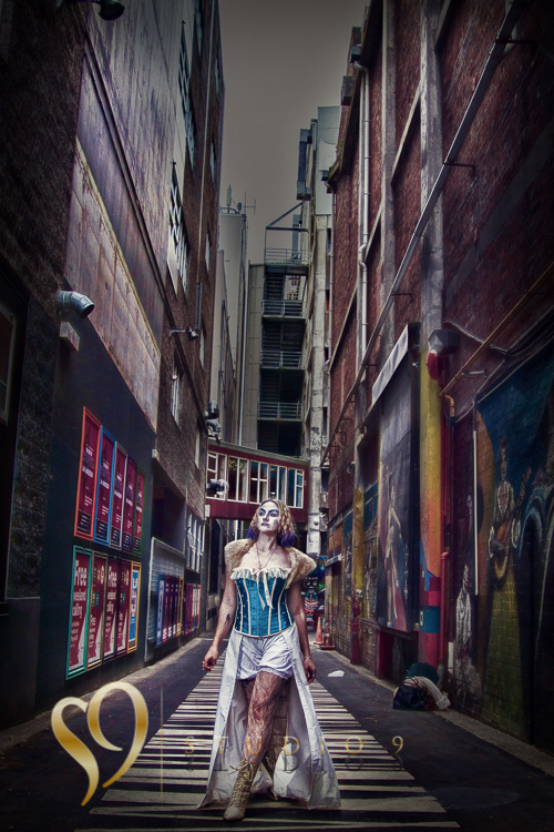 Wellington alley walk portrait
