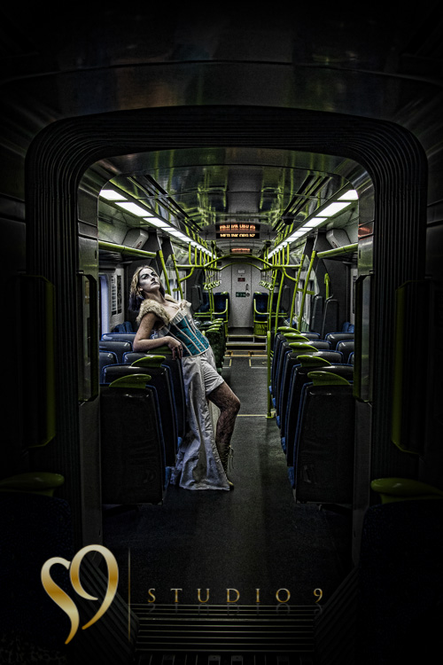 Portrait on a Wellington train.