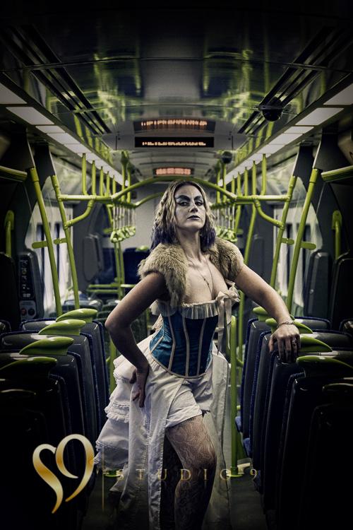 Go the train - Wellington Portraits.