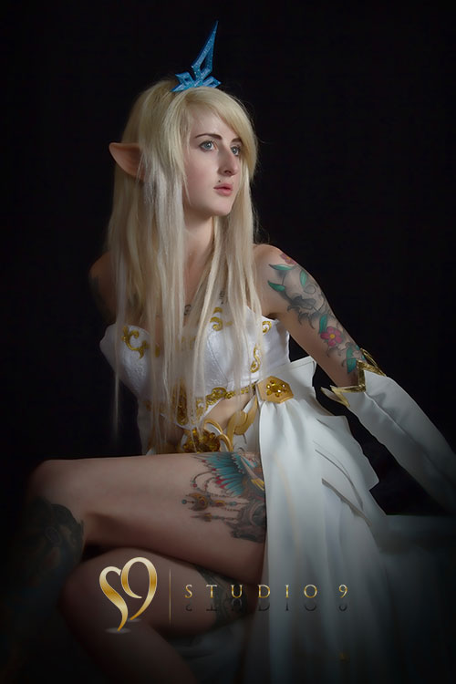 janna league of legends, beautiful princess.